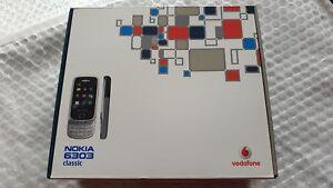 Nokia 6303 - Steel (Vodafone) Mobile Phone Sealed
