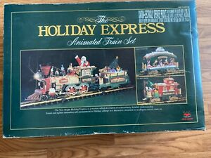 New Bright Industrial Co., Ltd Holiday Express Toy Train Set #380 COMPLETE SET!