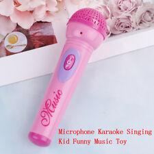 1Pc Girls Microphone Mic Karaoke Singing Kid Funny Gift Music Toy .
