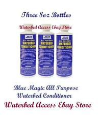 BLUE MAGIC All Purpose Waterbed Mattress Conditioner includes 3 8oz Bottles