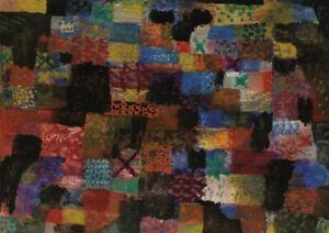 Paul Klee - A3 size 29.7x42cm QUALITY Retro Decor Canvas Art Print Unframed
