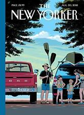 """THE NEW YORKER MAGAZINE AUGUST 20 2018 - """"SAFE TRAVELS"""" NEW SHIPS FREE"""