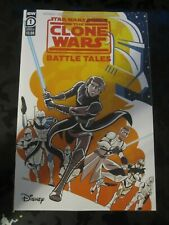 Star Wars Adventures The Clone Wars Battle Tales #1 cover A NM+ 9.6 IDW comic