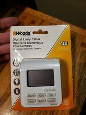Woods Indoor 7 - Day Programable Digital Timer