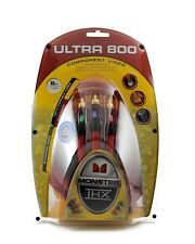 Monster Cable ULTRA 800 Component Video Cable 8 FT