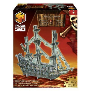 PUZZ 3D Pirates of the Caribbean 3 - Flying Dutchman. Hasbro. Brand New