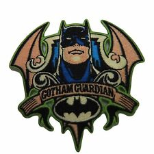 "Batman Gotham Guardian 3"" Tall Embroidered Iron on Patch"
