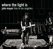 John Mayer - Where the Light Is: John Mayer Live in Los Angeles [New CD] Sony Pr
