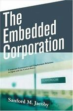 The Embedded Corporation: Corporate Governance and Employment Relations in Japan