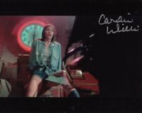 CAROLINE WILLIAMS signed Autogramm 20x25cm TEXAS CHAINSAW MA in Person autograph