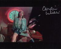 CAROLINE WILLIAMS signed Autogramm 20x25cm TEXAS CHAINSAW MA in Person autograph