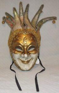 Mardi Gras Carnival Masquerade Ball 5009 - Gold Mask