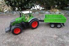 """RC Traktor FENDT 1050 mit KIPP-ANHÄNGER in 1:16 """"2,4 GHz Fernsteuerung 1050/K"""