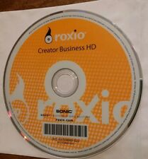 NEW SONIC ROXIO CREATOR BUSINESS HD DVD+CD SOFTWARE (2010, Sonic Solutions)