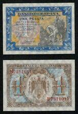"ESPAÑA 1 peseta serie B. Junio 1940 ""Hernan Cortes"" Nº 7311011. SC. PLANCHA."