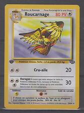 CARTE POKEMON - Roucarnage 24/64 (logo 1ere edition) VF neuve