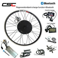 Electric Wheel Conversion Motor Kit Anti-Charge 500W 1000W 1500W 48V Bluetooth
