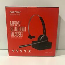 Mpow BH231A Bluetooth Headset Wireless - New Open Box