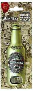 Guinness 2016 Collectors Edition bottle opener / fridge magnet  5415