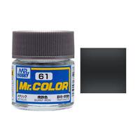 MR HOBBY Color C61 burnt Iron Paint 10ml For Model Kit New Free Ship