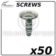 Screws Wings & Bumpers 6,35 x 18 MM Renault Master - Zoe Pack of 50 Part: 762
