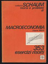 SCHAUM - MACROECONOMIA - EUGENE DIULIO - ETAS 1981 [NE7]