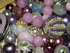 NEW 25/Pcs Lavender, Purple Jesse James beads Randomly picked lot