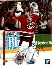Cam Ward Carolina Hurricanes Autographed 8 x 10 Hockey Photo