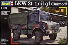LKW 2t. tmil gl (Unimog) 1/35 model kit Revell 03082