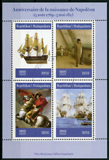 Madagascar 2019 CTO Napoleon 4v M/S Boats Ships Historical Figures People Stamps