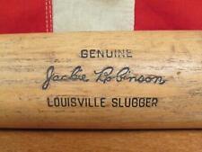 "Vintage Louisville Slugger H&B Wood Baseball Bat Jackie Robinson Model 34"" HOF"
