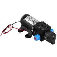 12V 100W High Pressure Self Priming Water Pump 160Psi 8Lpm Caravan Camping  C5H7
