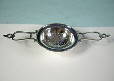 Antique Sterling Silver Tea Strainer w/ Hearts by David Carlson