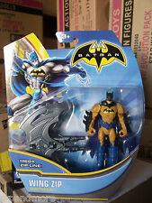 Batman Super Heroes and Villains 4-Inch Action Figure-Wing Zip Batman-NEW