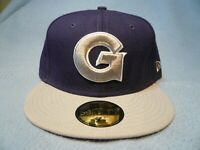 New Era 59fifty Georgetown Hoyas 2-tone Sz 7 or 7 3/8 BRAND NEW cap hat Fitted