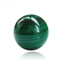 Vert Malachite Boule Cristal de Quartz Sphère Pierre Soin Magique Reiki Guérison
