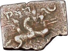 EUKRATIDES I 171BC Baktria Indo Greek Dioscuri Gemini Ancient Coin RARE i47114