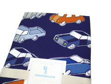 Pottery Barn Kids Cars Trucks Organic Cotton Full Queen Duvet Cover 2 Shams