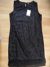 MEXX sehr chices leichtes Kleid schwarz Gr. 38 NEU ZC616