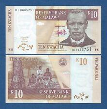 MALAWI -- 10 KWACHA ( 2004 ) -- UNC -- PICK 51a .