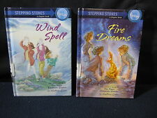 Stepping Stones Chapter Books: Fire Dreams and Wind Spell - Includes Shipping!!