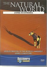 THE NATURAL WORLD LIVING IN EXTREMES DVD - DISCOVERY CHANNEL - NEW