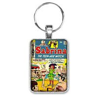 Sabrina The Teenage Witch Giant #8 Cover Key Ring or Necklace Archie Comics