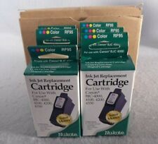 6 Nukote RF95 Replacement Color Ink Cartridges for Canon BJC 4000 4200 4550 5500