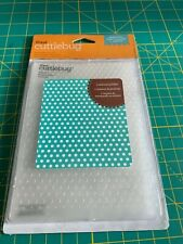 "Cricut Cuttlebug Polka Dots 4.75"" x 6.5""  Embossing Folder - New"