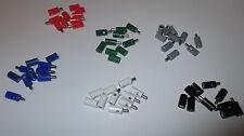 (Stck 23,25 ct) 60 Stück - Stecker/Muffen 2,6mm mit Querloch -  sortiert  NEU