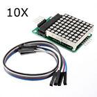10Pcs MAX7219 Dot Matrix Module MCU LED Control Module Kit For Arduino