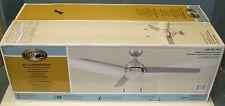 """Hampton Bay Carrington 60"""" in. Indoor/Outdoor Brushed Nickel Ceiling Fan"""