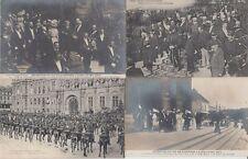 Norway Royalty King Haakon Visit 1907 Paris 30 Vintage Postcards
