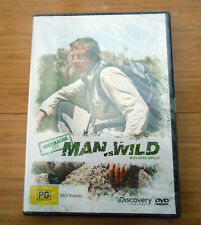 NEW & SEALED Man Vs Wild Destination USA DVD with Bear Grylls - Reg. 4